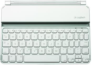 Logitech Ultrathin Keyboard Cover for iPad mini, US, bílá; 920-005121