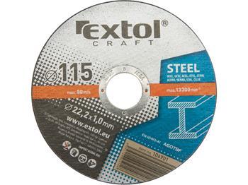 Extol kotouče řezné na kov, 5ks, 125x1,0x22,2mm, EXTOL CRAFT; 106902