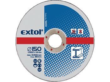 Extol kotouče řezné na kov, 5ks, 180x2,5x22,2mm, EXTOL CRAFT