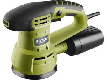 Extol bruska vibrační excentrická, 430W, 125mm, EXTOL CRAFT; 407202