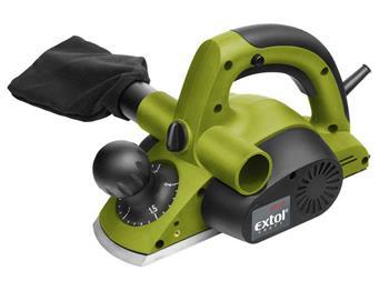 hoblík elektrický, 750W, 82mm, 0-2mm, EXTOL CRAFT