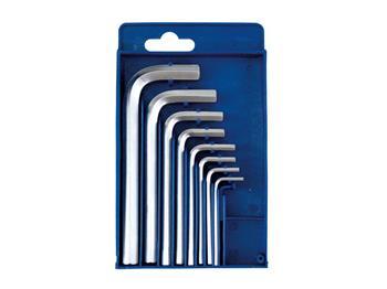 imbus klíče, sada 8ks, 2-2,5-3-4-5-6-8-10mm, CrV, EXTOL CRAFT; 6617
