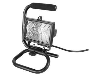 světlo halogenové přenosné s podstavcem, 150W, kabel 1,7m, EXTOL CRAFT; 82788