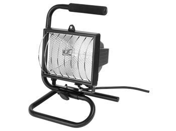 světlo halogenové přenosné s podstavcem, 500W, kabel 1,7m, EXTOL CRAFT; 82789