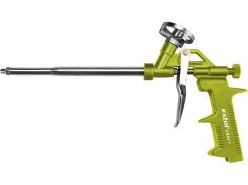 Extol pistole na PU pěnu, s regulací průtoku, plastový rám, EXTOL CRAFT; 85010