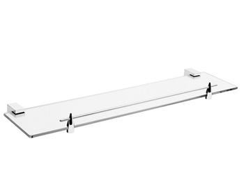 polička, 500x135x40mm, skleněná, SONATA; 854006