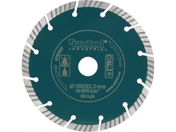 kotouč diamantový řezný segmentový Grab Cut, 180x22.2mm, suché i mokré řezání, max. hloubka řezu 45