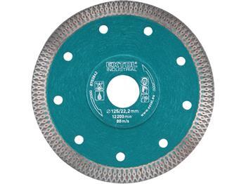 kotouč diamantový řezný turbo Thin Cut, 115x22,2mm, suché i mokré řezání, EXTOL INDUSTRIAL