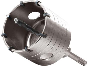 vrták SDS PLUS do zdi korunkový, Ř100mm, délka stopky 100mm, EXTOL PREMIUM; 8801966
