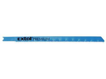 plátky do přímočaré pily 5ks, 106x1,8mm, úchyt UNIVERSAL, Bi-metal, EXTOL PREMIUM; 8805705
