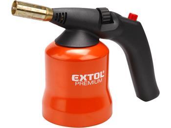hořák s piezo zapalováním na propichovací kartuše, pro propichovací plynové kartuše (bez závitu) s ; 8848105