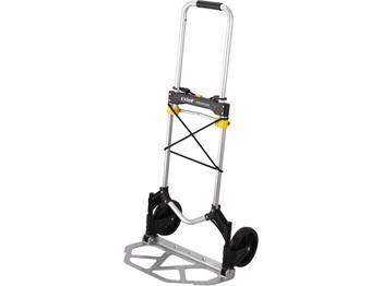 Extol vozík-rudl skládací, nosná plocha 28x48cm, nosnost 80kg, upínací guma Ř8mm x 120cm zakončená háky, ; 8856000