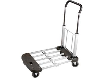 vozík skládací, nastavitelná nosná plocha 53-74x44cm, nosnost 150kg, velikost složeného vozíku 53x4; 8856010