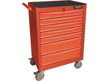 vozík na nářadí, 7 zásuvek, nosnost 250kg, EXTOL PREMIUM