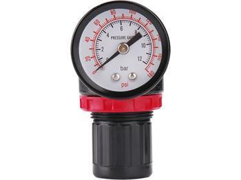 "regulátor tlaku s manometrem, max. prac. tlak 8bar (0,8MPa), konektor rychlospojek 1/4"", EXTOL PREM; 8865103"