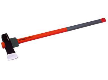 sekera-kalač, sklolaminátová násada, 3000g, násada 80cm, s gumovým chráničem násady, EXTOL PREMIUM