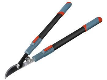 nůžky na větve teleskopické dvousečné, 670-960mm, teleskopická rukojeť, na stříhání větví do průměr