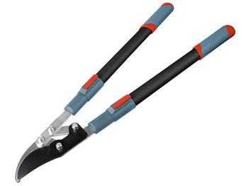 nůžky na větve teleskopické převodové dvousečné, 700-1000mm, teleskopická rukojeť, na stříhání větv