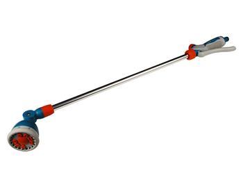 postřikovač zahradní-zalévací tyč, délka 75cm, 9funkční, s ventilem pro regulaci průtoku vody, ergo