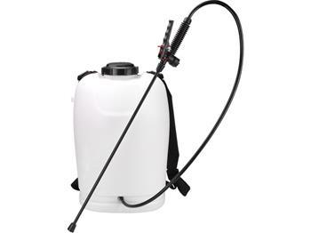 postřikovač AKU tlakový zahradní, 18l, 12V, kapacita baterie 7Ah, doba provozu při plném nabití: 5