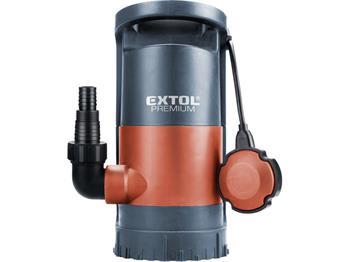 čerpadlo na znečištěnou vodu 3v1, 900W, 13000l/h, 10m, EXTOL PREMIUM, SP 900