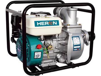 """čerpadlo motorové proudové 6,5HP, 3""""/3"""" (76mm), 1100l/min = 66m3/hod, 4,8kW (6,5HP)/4000min-1, HERO"""