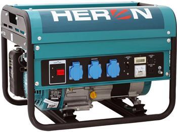elektrocentrála benzínová 5,5HP, 2,3kW, HERON, EGM 25 AVR