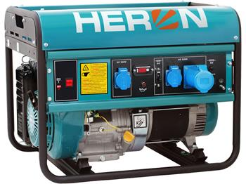 elektrocentrála benzínová 15HP, 7,0kW, HERON, EGM 68 AVR-1