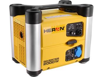elektrocentrála digitální invertorová 3,0HP, 2,0kW, HERON, DGI 20 SP; 8896217