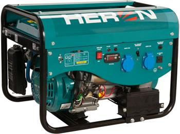 elektrocentrála benzínová a plynová (LGP/NG) 6,3HP, elektrický start, Benzín 2,4kW, LPG 2,2kW, CNG