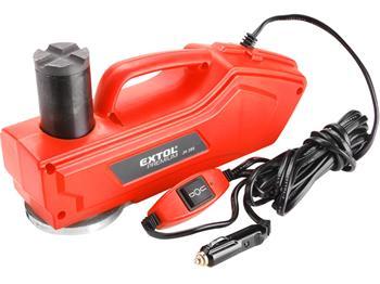 zvedák hydraulický elektrický, 180W, 12V DC, max. 1000kg, min./max výška: 165/385mm, kabel 4,2m, hm; 8897203