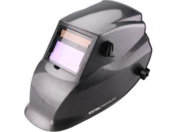 kukla svářecí samostmívací, karbonová, 100x50mm, 1/25000s, optická třída 1/1/1/2, 2 senzory, UV/IR