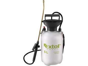 postřikovač tlakový zahradní, 5l, EXTOL CRAFT; 92602