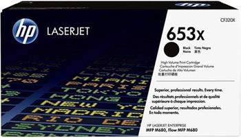 HP 653X (CF320X, černá) - originální; CF320X