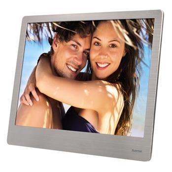 """Digitální fotorámeček Steel Basic, 20,32 (8"""") , stříbrný"""
