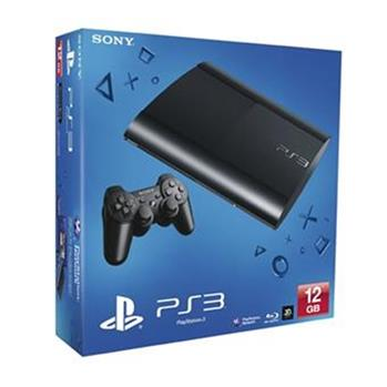 Sony PS3 Playstation 3, 12GB, black; PS719448419