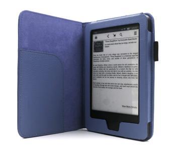C-TECH PROTECT AKC-08, modré pouzdro pro Amazon Kindle 6 TOUCH, WAKE/SLEEP funkce