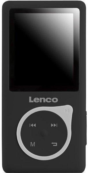 Lenco Xemio-657 černá - přehrávač mp3/mp4.