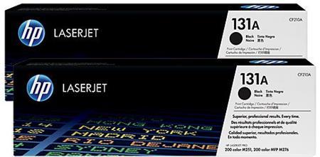 HP 131X (CF210XD, černá, dvojbalení) - originální; CF210XD