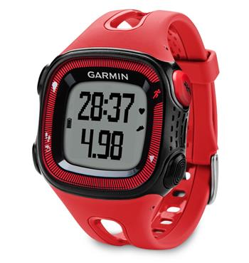 Garmin Forerunner 15 HR Red/Black (vel. XL); 010-01241-51