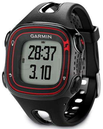 Garmin Forerunner 10 Black and Red (vel. XL); 010-01039-03