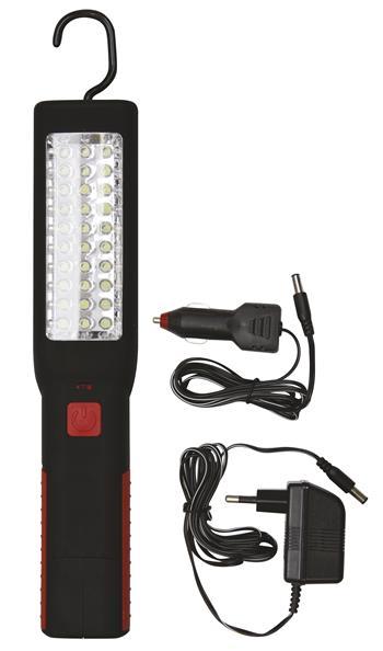 Nabíjecí svítilna LED ZZ-836, 30+7 LED; 1450000082