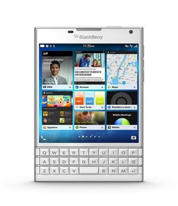 BlackBerry Passport QWERTY 3GB, 3G, White; PRD-59181-016
