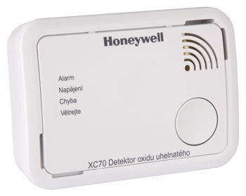 Detektor oxidu uhelnatého v místnosti Honeywell XC70-CS; 2101807000