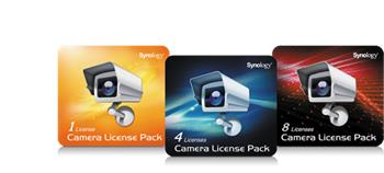 Synology Camera License Pack x 8pack; License Pack 8