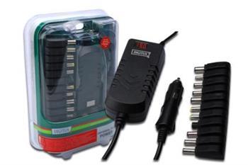 Digitus univerzální cestovní napájecí adaptér pro notebook + USB (12V - 30V) , 90W ; DA-10091