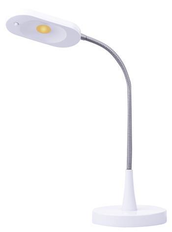 LED stolní lampička HT6105, bílá