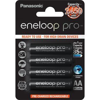 Panasonic AA 4ks 2500 mAh Eneloop Pro (BK-3HCDE/4BE) ; BK-3HCDE/4BE