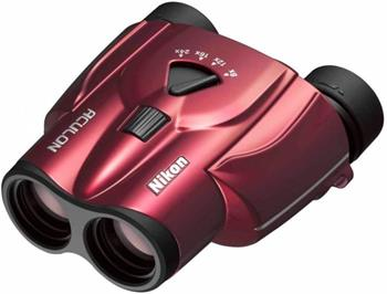 NIKON BINOCULARS ACULON T11 - dalekohled 8-24x25 Red; BAA802SA