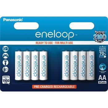 Baterie Panasonic Eneloop AA 8ks 3MCCE/8BE; 3MCCE/8BE